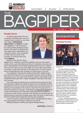 Fall 2019 Bagpiper
