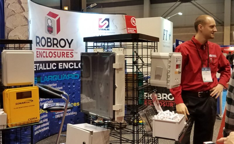 Robroy Enclosures™ team members  exhibiting at AHR Expo in Chicago