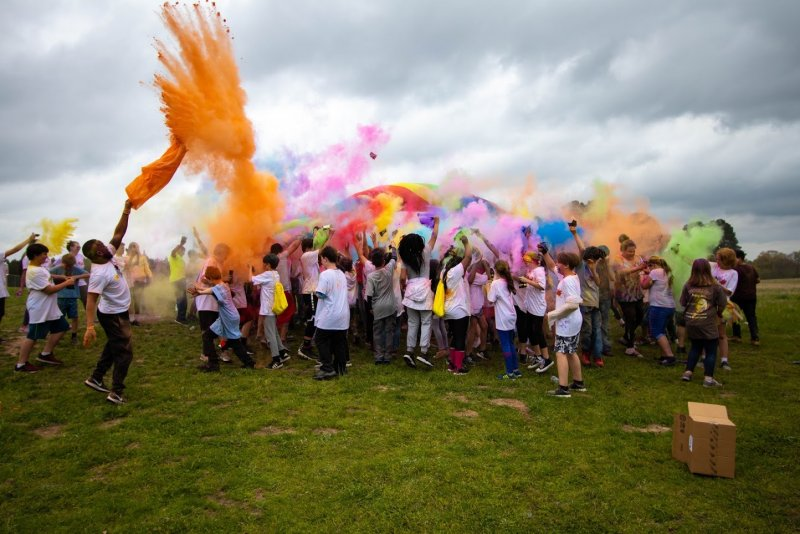 Gilmer Intermediate Color Run