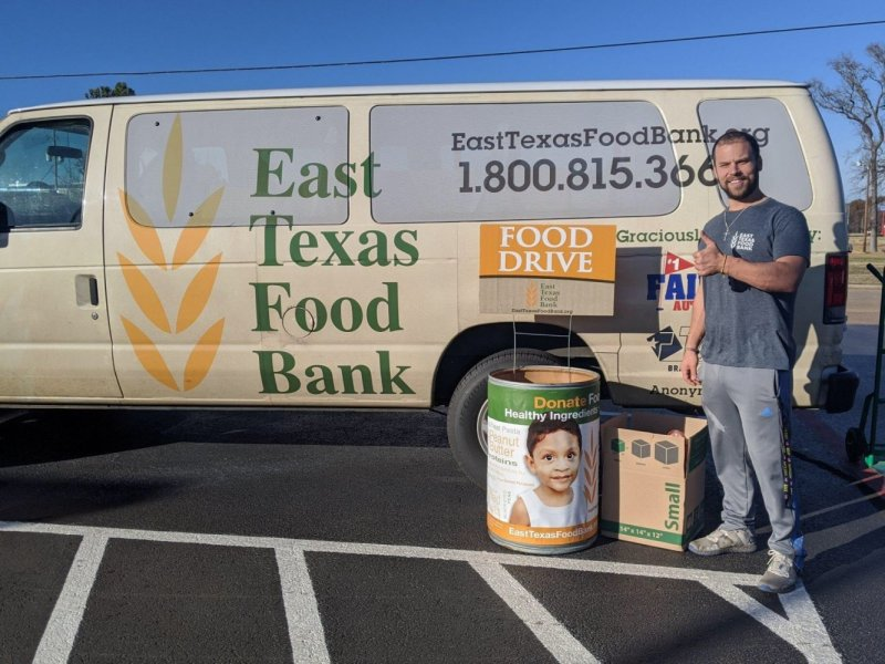 East Texas Food Bank Receives Holiday Necessities